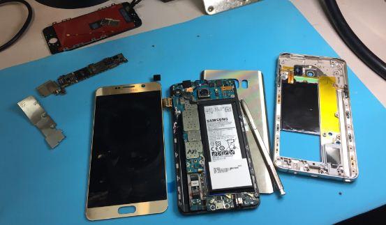 Thay màn hình Samsung Note 5 và những lưu ý