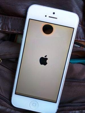 Đốm đen trên màn hình iPhone