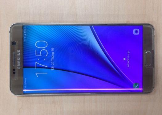 Samsung Note 5 bị sọc màn hình