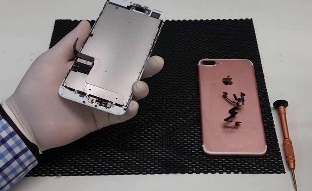 Thay màn hình iPhone 7 Plus tại 587 Lê Hồng Phong