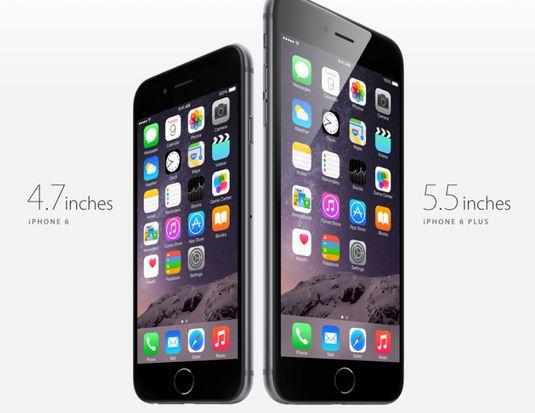 Màn hình iPhone 6 vs iPhone 6 Plus