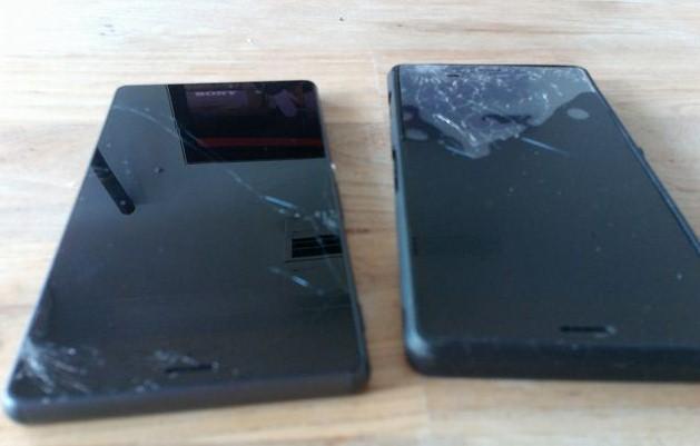 Màn hình Sony z3 bị vỡ mặt kính