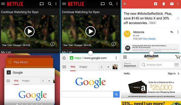Cách chia đôi màn hình Samsung S7 Edge