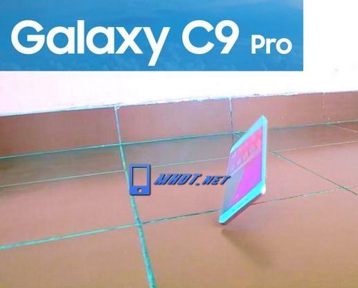 Samsung C9 Pro rơi rớt vỡ màn hình