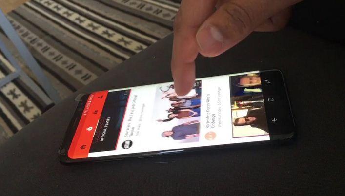 Thay màn hình Samsung s8 Plus khi bị liệt cảm ứng
