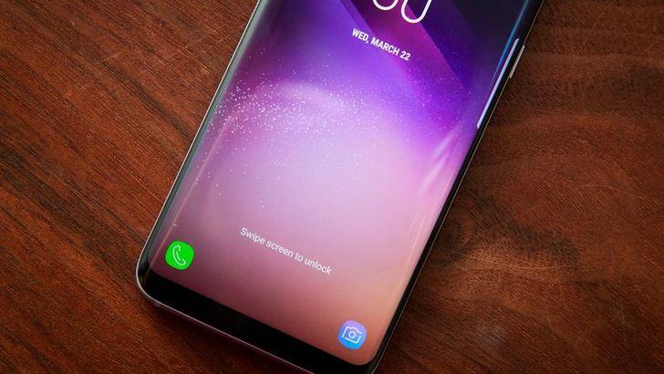Samsung Galaxy S8 Plus bị liệt cảm ứng