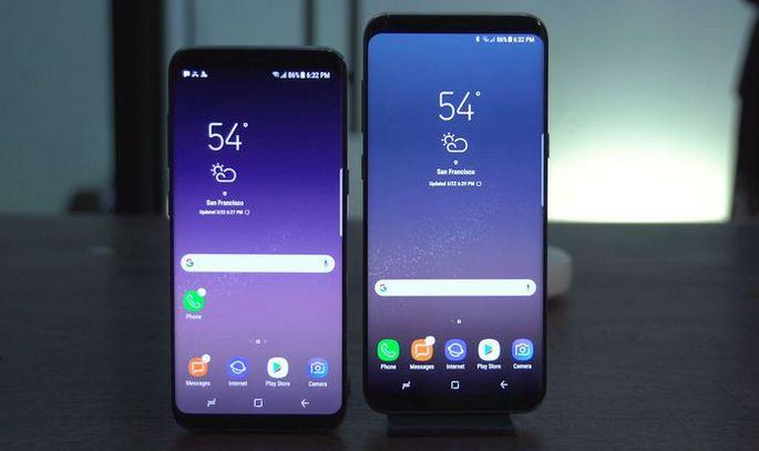 Thay màn hình Samsung S8, S8 Plus tại TP HCM