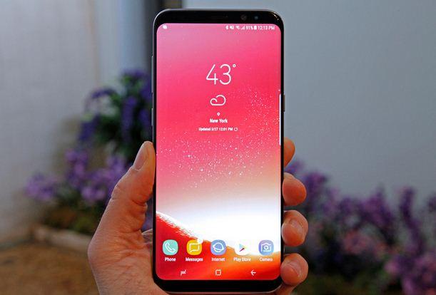 Màn hình Samsung S8 Plus - Khai phóng chuẩn mực điện thoại