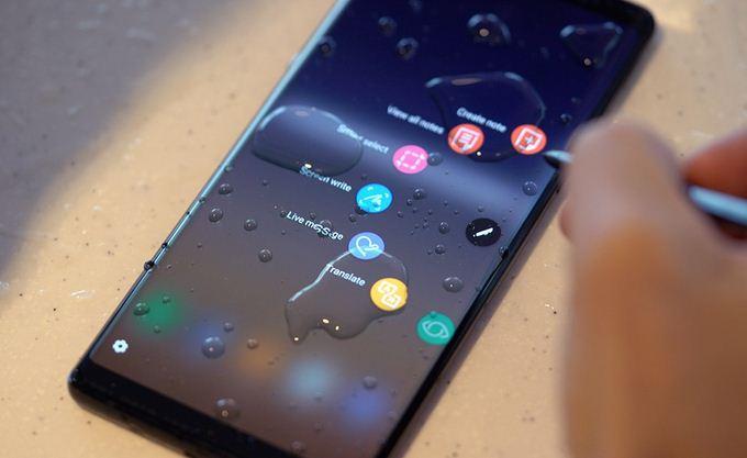Khả năng chóng nước của Note 8 sẽ không còn sau khi thay màn hình