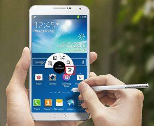 Chụp màn hình Samsung Note 4 bằng bút Spen