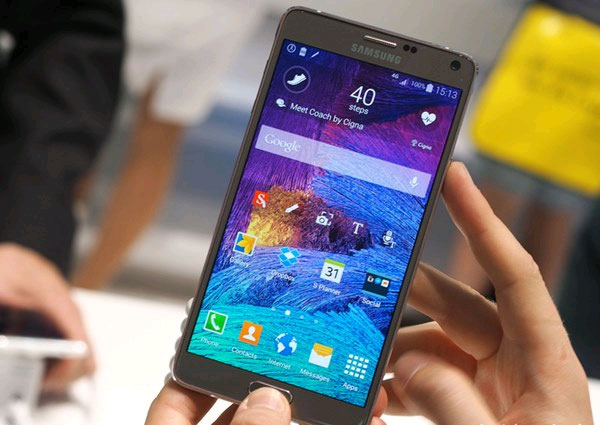 chụp màn hình Samsung Note 4