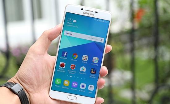 Samsung C9 Pro bi liet cam ung
