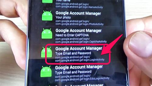 Xóa xác minh tài khoản Google Samsung