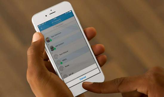 Sao lưu danh bạ trên điện thoại iPhone