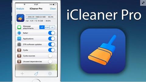 Phần mềm dọn rác cho iPhone