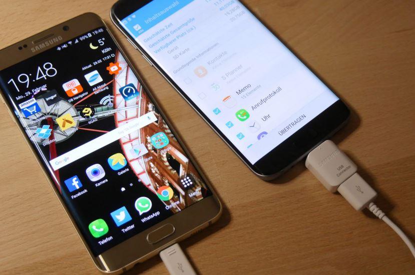 Samsung s7 edge bị nóng máy khi sạc