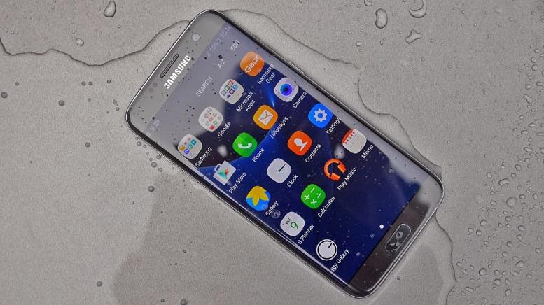 Samsung s7 edge bị ngấm nước