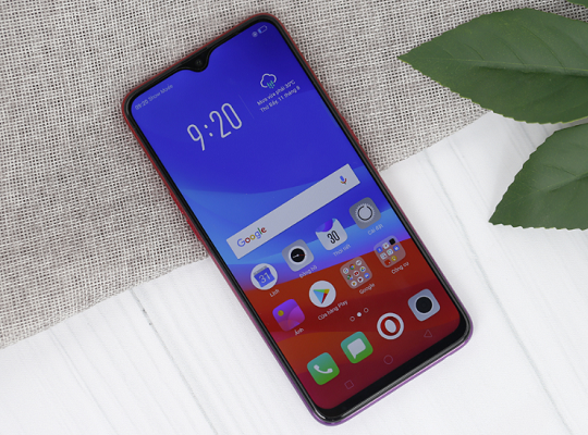 oppo f9 bi nong may