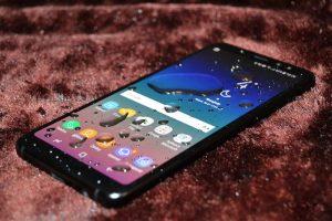 Samsung A6 plus bị chảy mực