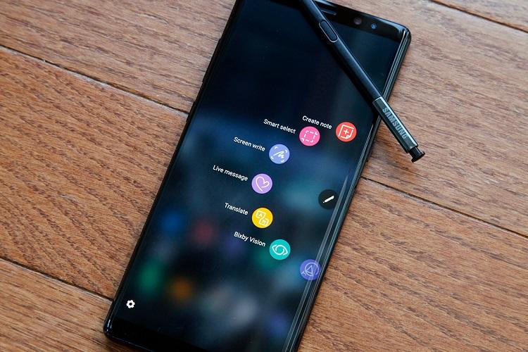 Ứng dụng cực đã trên màn hình Samsung Note 9