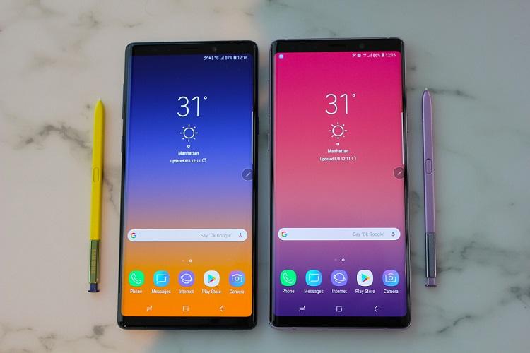 Nguyên nhân phải thay mặt kính Samsung Note 9