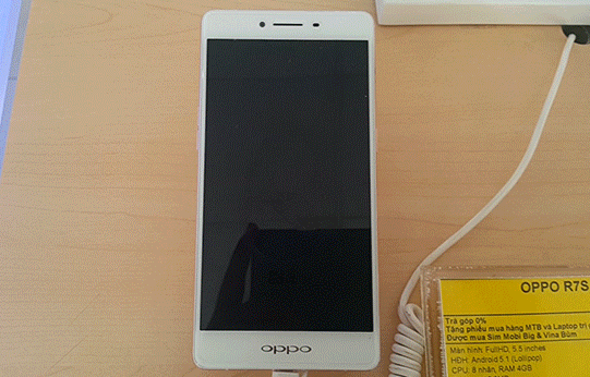 oppo r7s vo man hinh