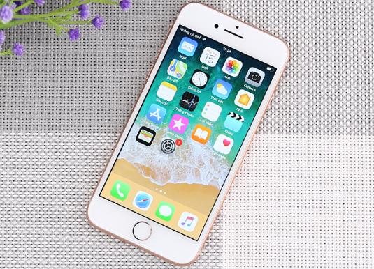 tinh trang iphone 8 be mat kinh