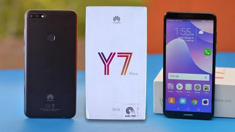 Thay màn hình Huawei Y7 Prime vì lí do gì