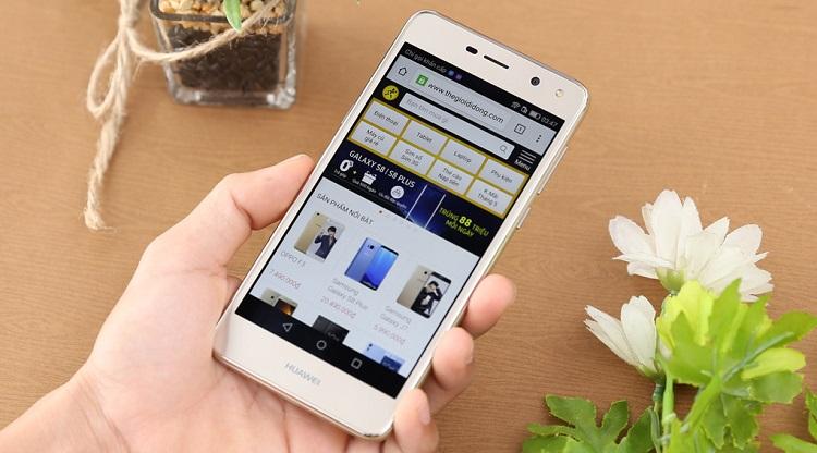 Điện thoại Huawei Y5 2017 màu trắng