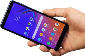 Nguyên nhân Samsung galaxy A7 bị sọc màn hình