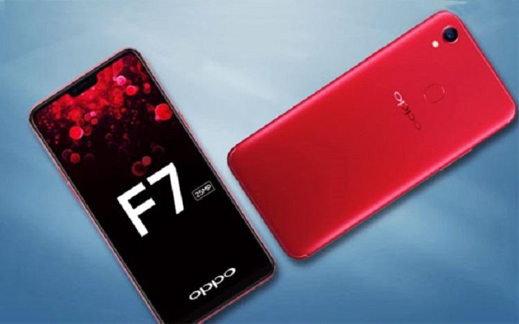 Oppo F7 ra mắt với thiết kế cực đẹp