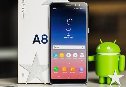 samsung a8 2018 bi treo logo