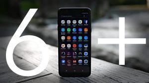 màn hình Samsung A6 Plus đen