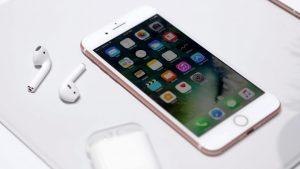 iPhone 7 hư camera trước