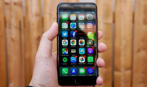 Camera trước iPhone 7 Plus bị ngược không phải là lỗi hư hỏng