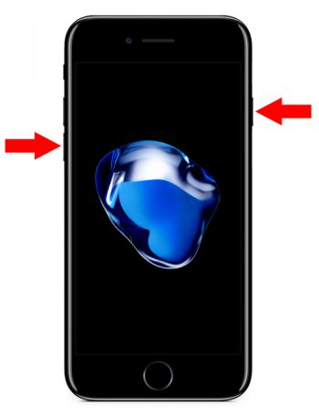 Hard Reset iPhone 7