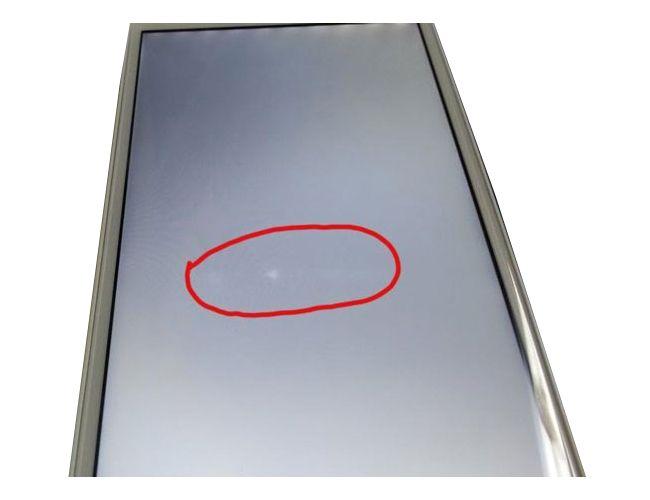 Màn hình iphone 7 bị đốm trắng