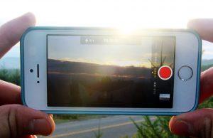 iPhone chụp hình không lưu được