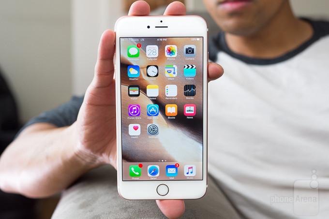màn hình cảm ứng iPhone 6s Plus không nhạy