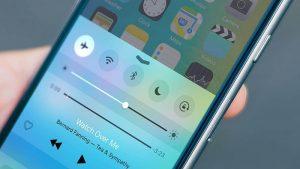 Tắt bỏ chế độ làm phiền/máy bay iphone 7