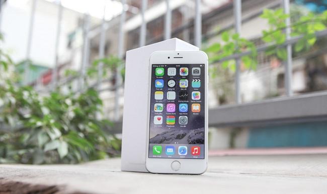 Iphone 6 gặp lỗi cảm ứng