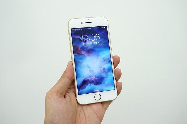 Màn hình iphone 6 bị ám vàng