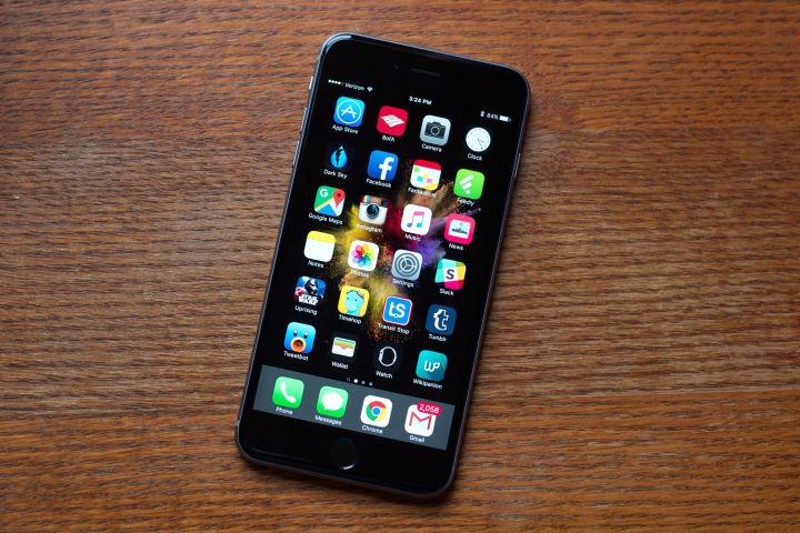màn hình iphone 6s plus bị chảy mực