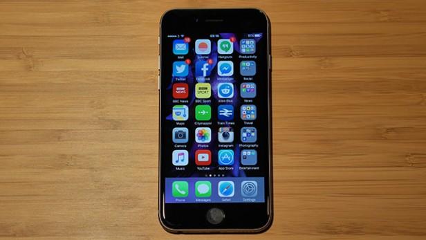 lỗi iPhone 6s bị nhòe màn hình