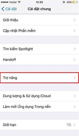 bật phím Home ảo trên iPhone 7 Plus
