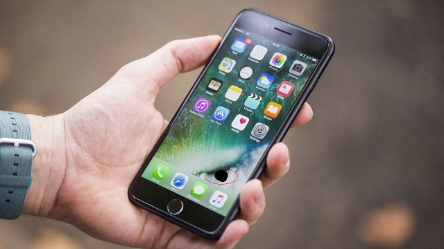 iPhone hư nút nguồn