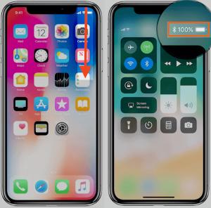 cách hiển thị phần trăm pin iPhone Xs Max