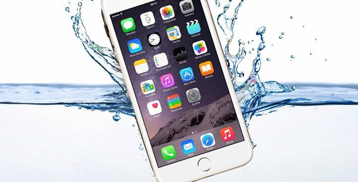 điện thoại rớt nước