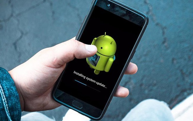 Chạy lại phần mềm điện thoại Android