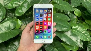 lỗi iPhone 7 Plus bị reset liên tục